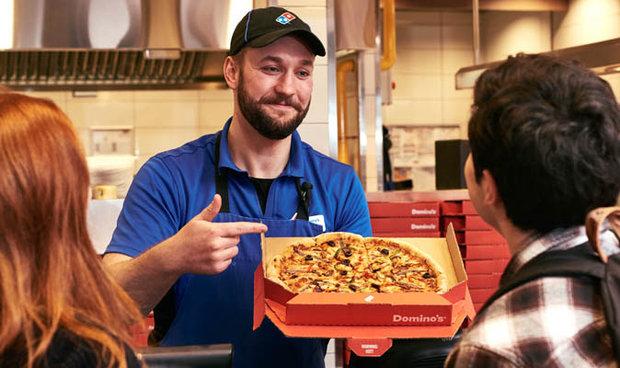 Domino's Brain Power Pizza