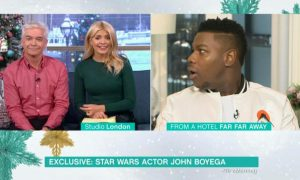 Holly Willoughby John Boyga