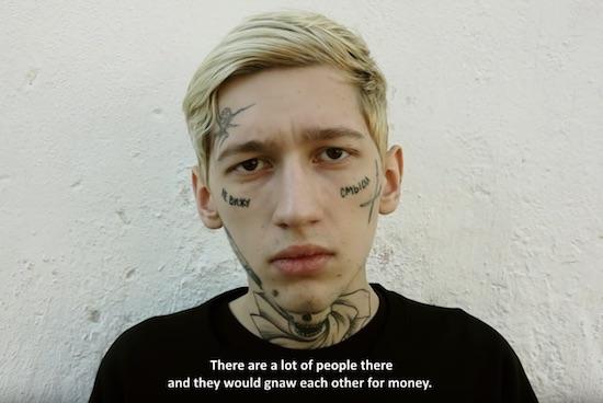 Russian Face Tattoos