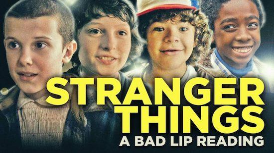 Stranger Things Bad Lip Reading