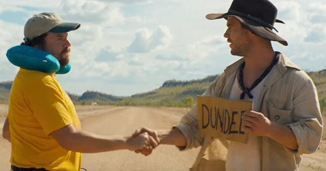 Chris Hemsworth Dundee