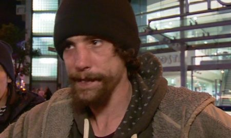 Chris Parker, Homeless Hero Manchester Attacks Picture: BBC (gr