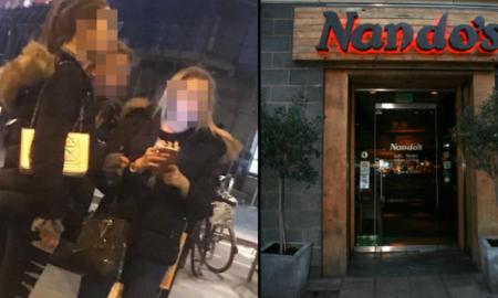 Homeless Man Nando's