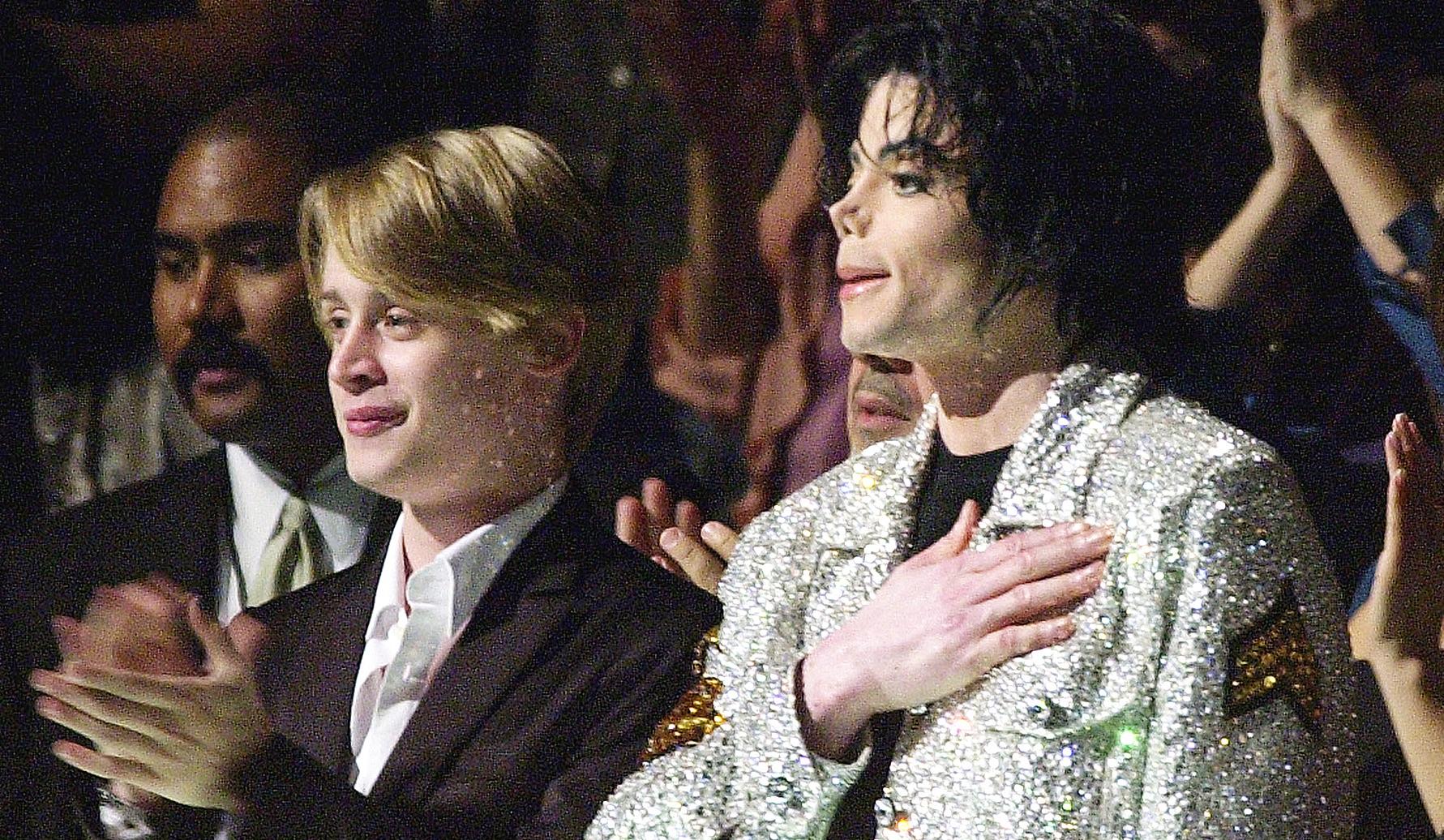 Macaualay Culkin Michael Jackson
