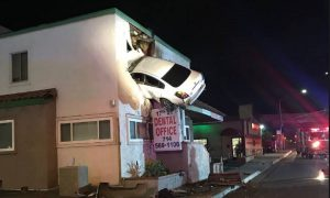 Second Story Crash