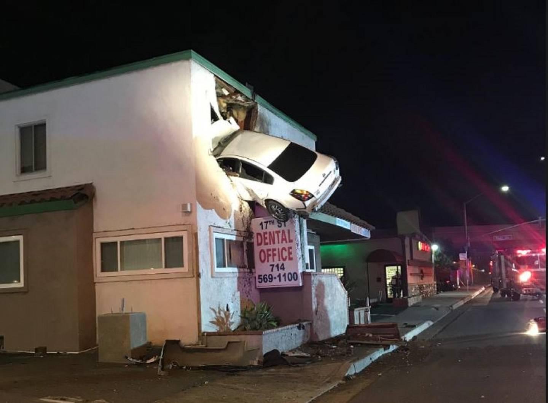 Second Story Crash