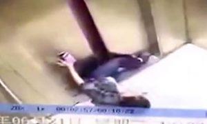 Woman's Leg Ripped Off