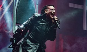 Marilyn Manson Performs At AccorHotels Arena In Paris