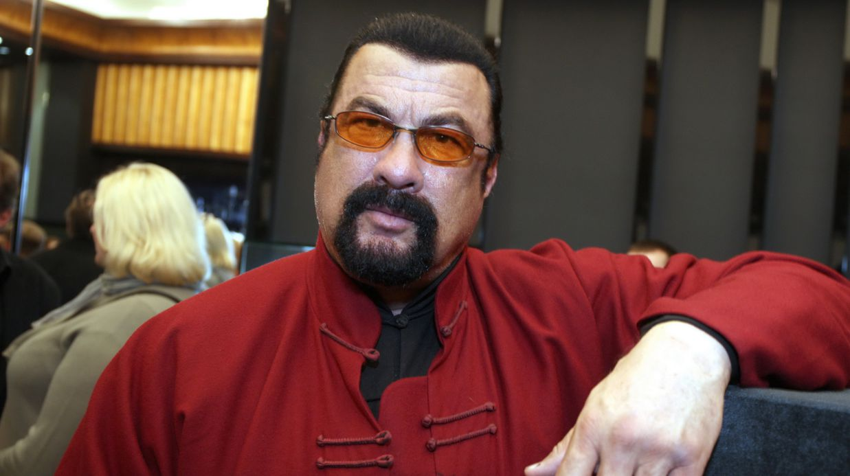 Steven Seagal Is Now R...