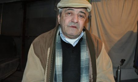 Constantin Reliu, 63 is pictured at his
