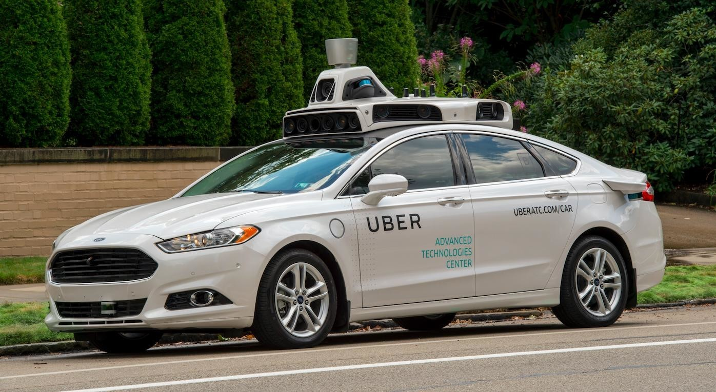 Self Driving Uber Car