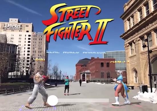 Street Fighter 2 AR