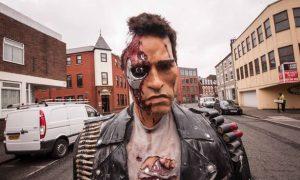 Terminator Statue Birmingham