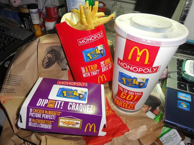 McDonalds Monopoly 2