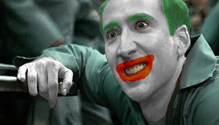 Nicolas Cage Joker