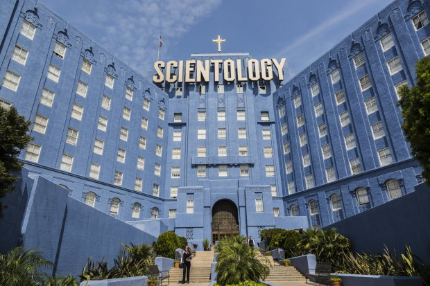 USA - Church of Scientology Building in Los Angeles