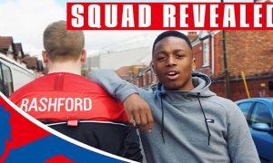 England Squad Reveal