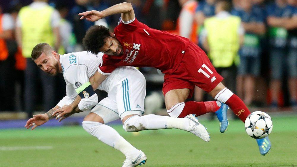 Ramos Foul Salah
