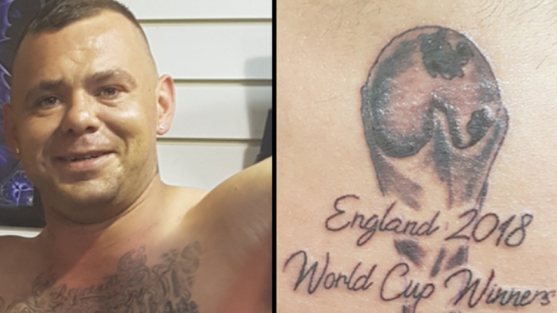 England Tattoo 1