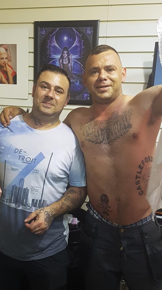 England Tattoo 2
