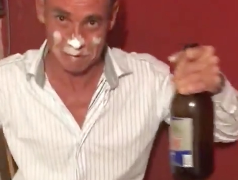 Guy Doing Coke