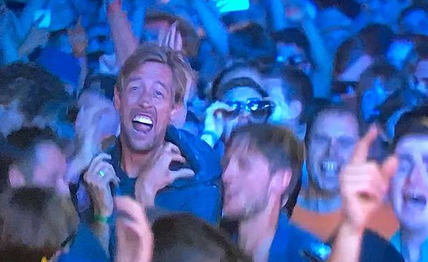 Peter Crouch Isle Of Wight