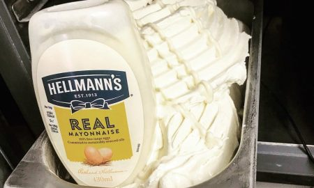 Mayonnaise Ice Cream
