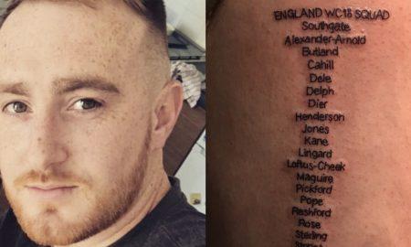 World Cup Squad Tattoo