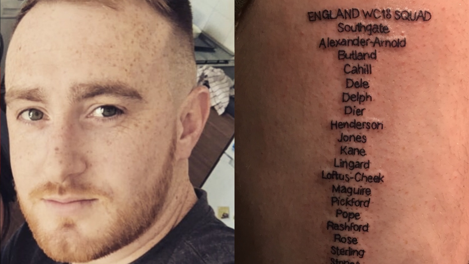 World Cup Squad Tattoo