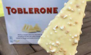 Toblerone White Ice Cream