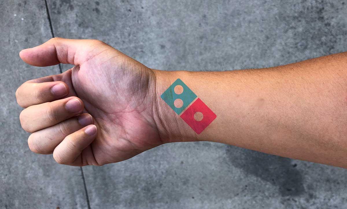Domino's Tattoo