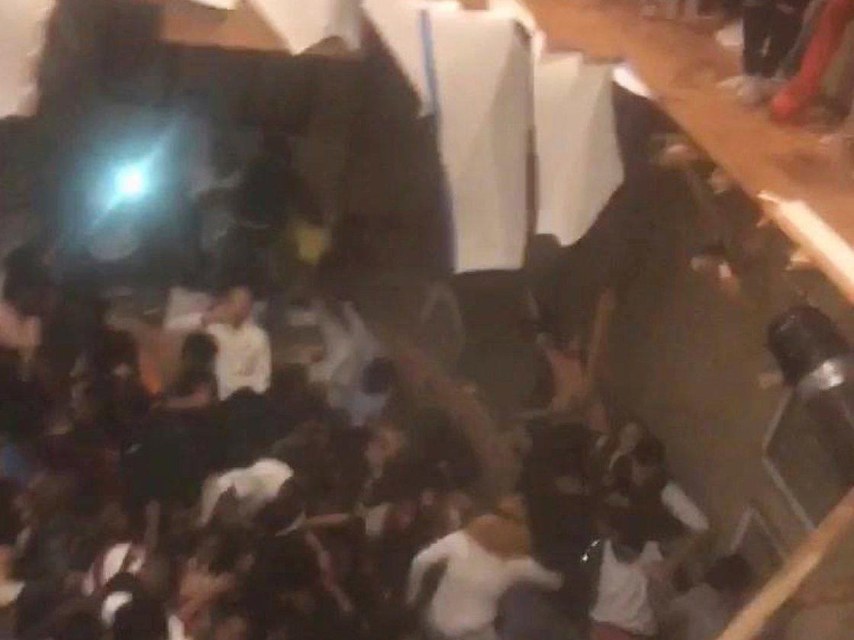 Dance Floor Collapses
