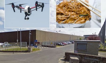 Drone Chinese Takeaway