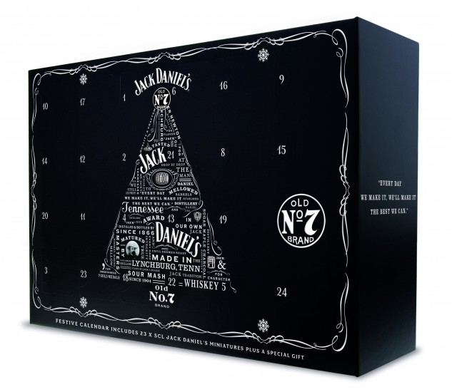Jack Daniel's Advent Claendar