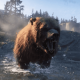 Red Dead Bear Attack