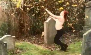 Dancing naked Graveyard