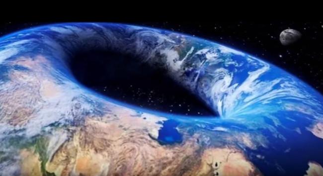 Flat Earth Donut