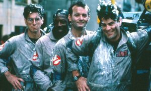 Ghost Busters (1984) Dan Aykroyd, Bill Murray, Harold Ramis, Ernie Hudson Credit: Columbia Pictures/Courtesy The Neal Peters Collection