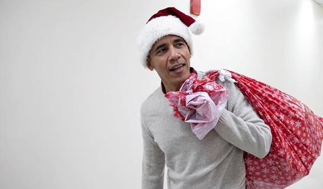 Barack Santa