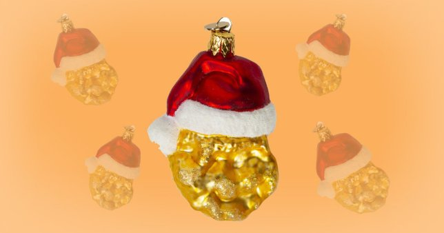 Mcdonalds Christmas Ornament.Mcdonald S Is Now Selling Chicken Nugget Christmas Decorations