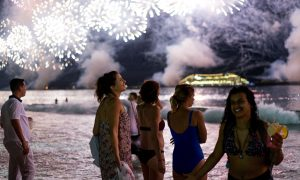 Brazil: New Years On Copacabana Beach