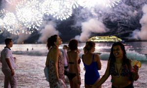 Brazil: New Years On Copacabana Beach