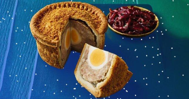 Scotch Egg Pork Pie