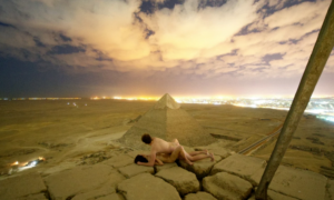 Shagging Pyramid