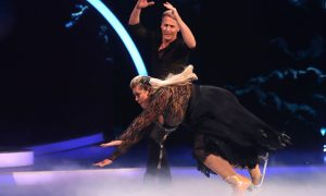 Gemma Collins Falling