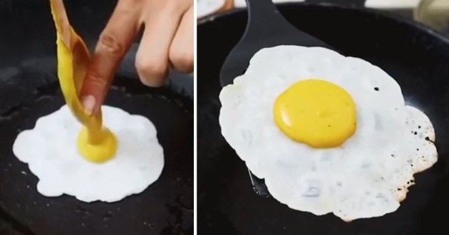 Here's How To Make A Vegan Fried Egg With A Runny Yolk – Sick Chirpse