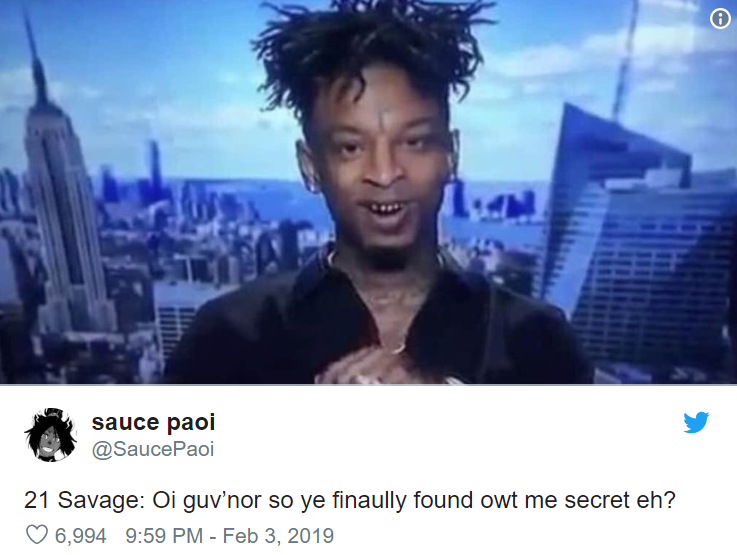here are the funniest 21 savage memes on the internet right now sick chirpse here are the funniest 21 savage memes
