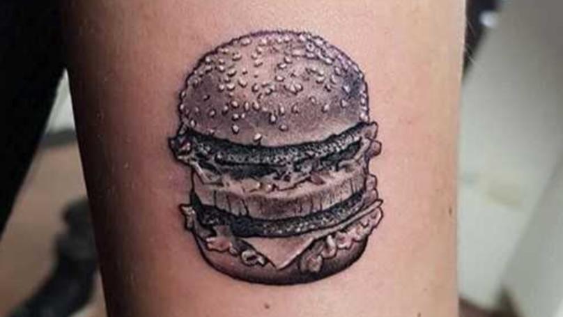 Big Mac Tattoo