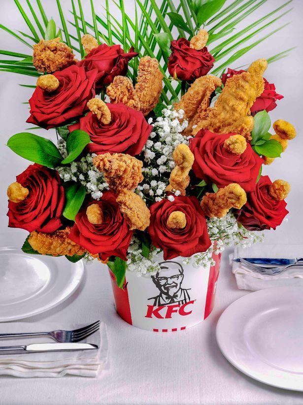 KFC Bouqet de Poulet