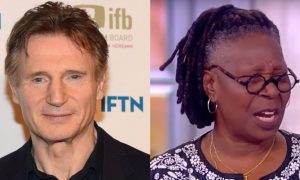 Whoopi Goldberg Liam Neeson